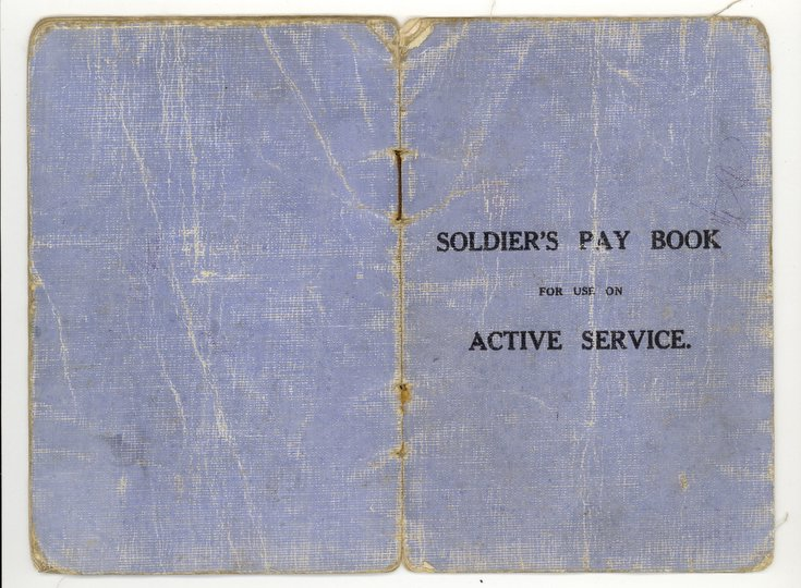 Army Pay Book Active Service