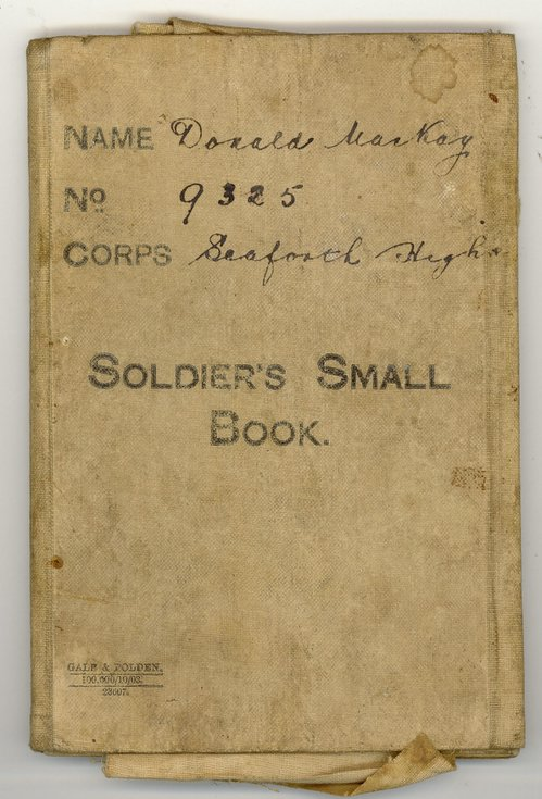 Soldier's Small Book