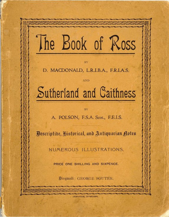 The Book of Ross & Sutherland and Caithness