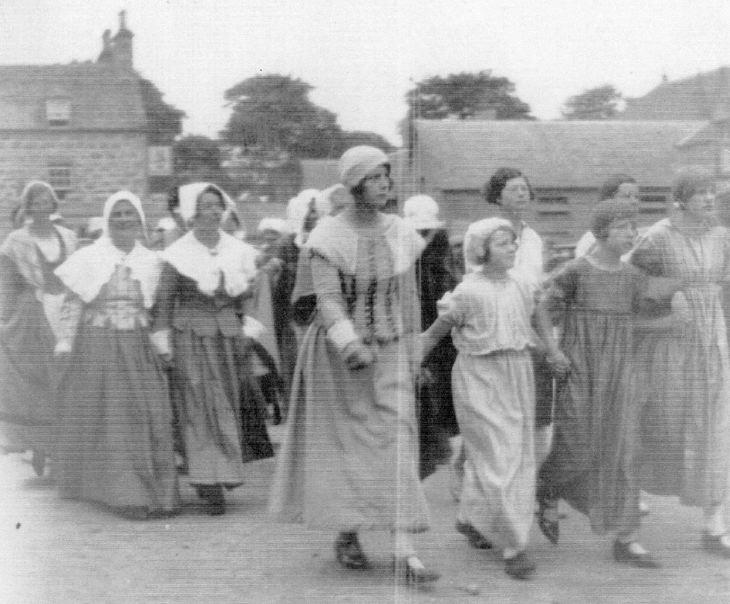 Photograph album of Dornoch Pageant 1928