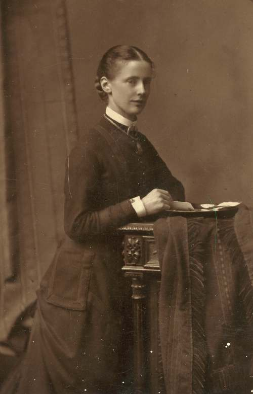 Photograph of Miss Lyon's mother