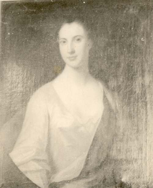 Painting of General Middleton's daughter
