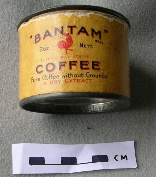 Bantam coffee container