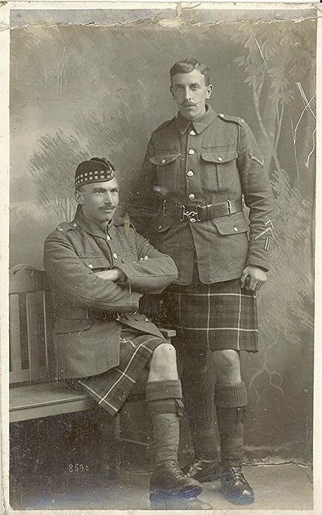 Mackay Family Photograph ~ Simon Mackay (seated)