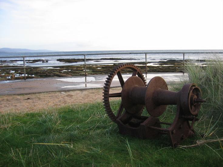 Winding winch