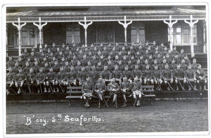 'B' Company 5th Seaforth Highlanders