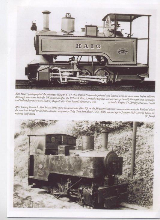 Kerr Stuart 'Haig' locomotive No. 3085