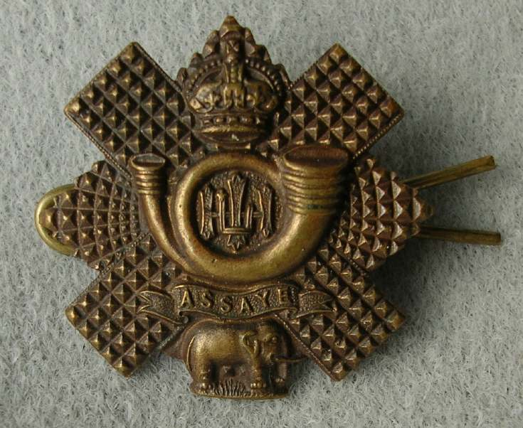 Highland Light Infantry badge