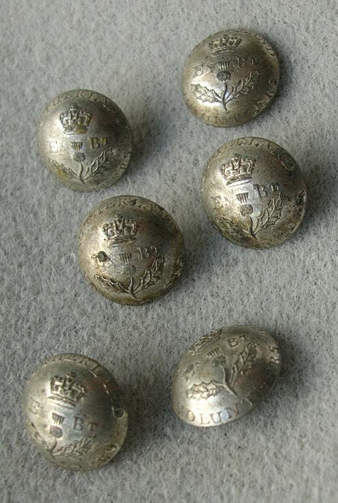 Sutherland Volunteers buttons
