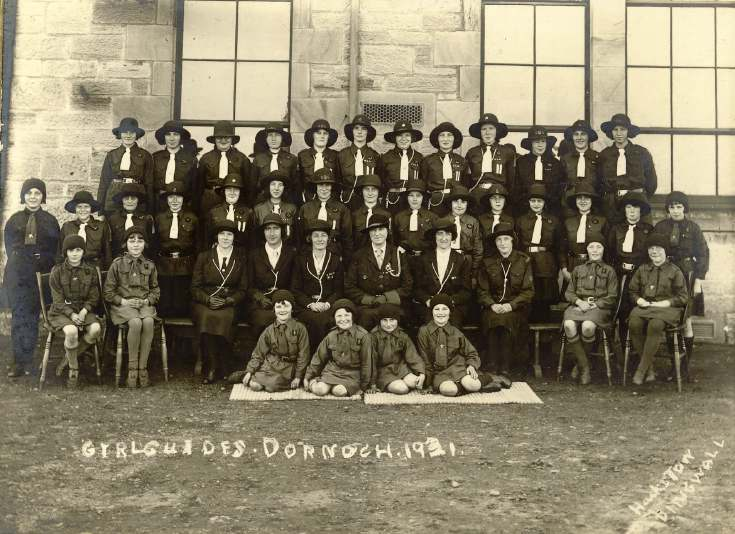 Girl Guide Group Photograph
