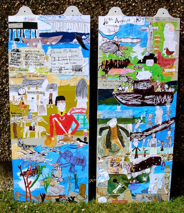 Dornoch Primary School Meikle Ferry Panels