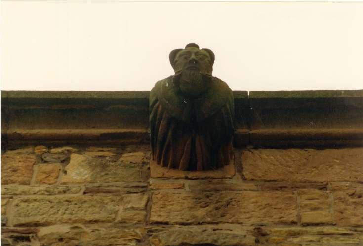 Dornoch Cathedral gargoyle