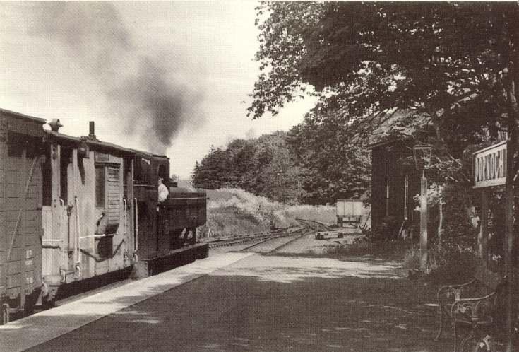 Engine No 1646 at Dornoch Railway Station