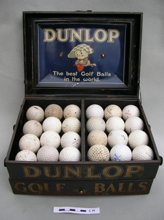 Dunlop Golf ball display box