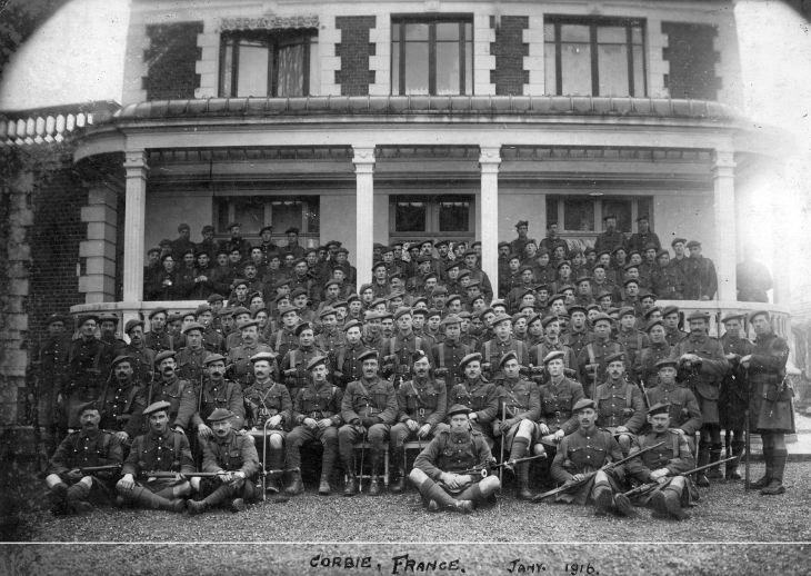 Seaforth Highlanders in France 1916
