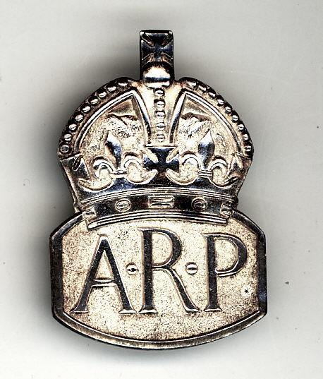 Air Raid Precaution (ARP) badge