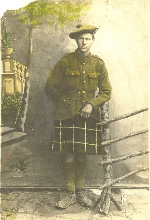 Marcus Matheson of the Lovat Scouts