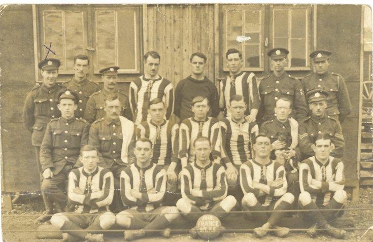 Lovat Scouts football team 1915