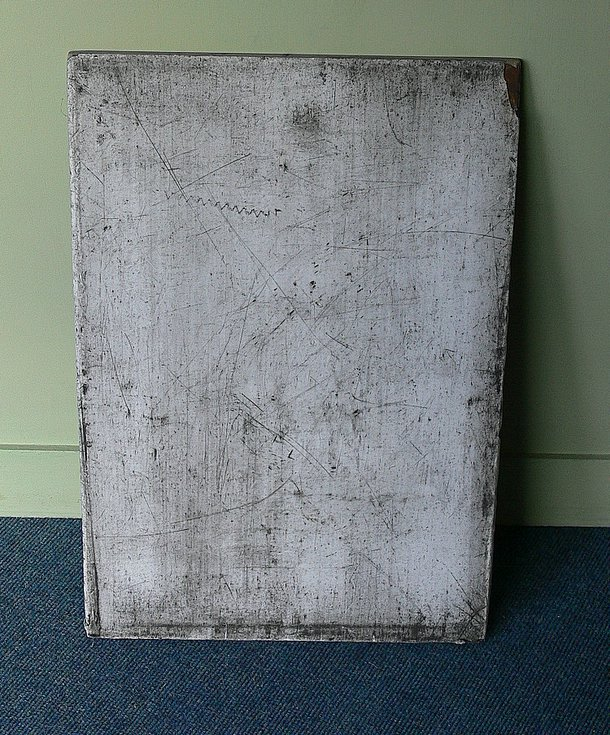 Plate used in construction of Dornoch Bridge