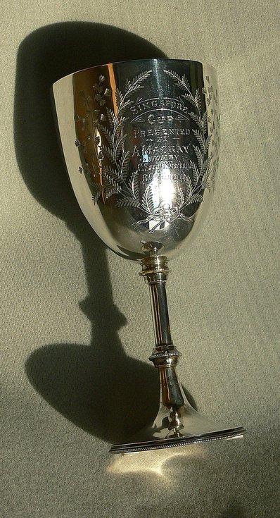 Singapore Cup - Robert Mackay 1892