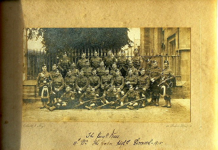 Sergeants' Mess Gordon Highlanders Dornoch