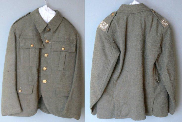 Seaforth Highlanders WW1 tunic