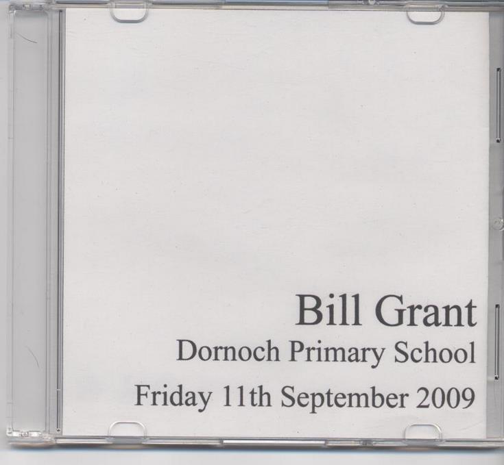 Bill Grant of Dornoch 'Their Past Your Future' - WW2 Evacuation