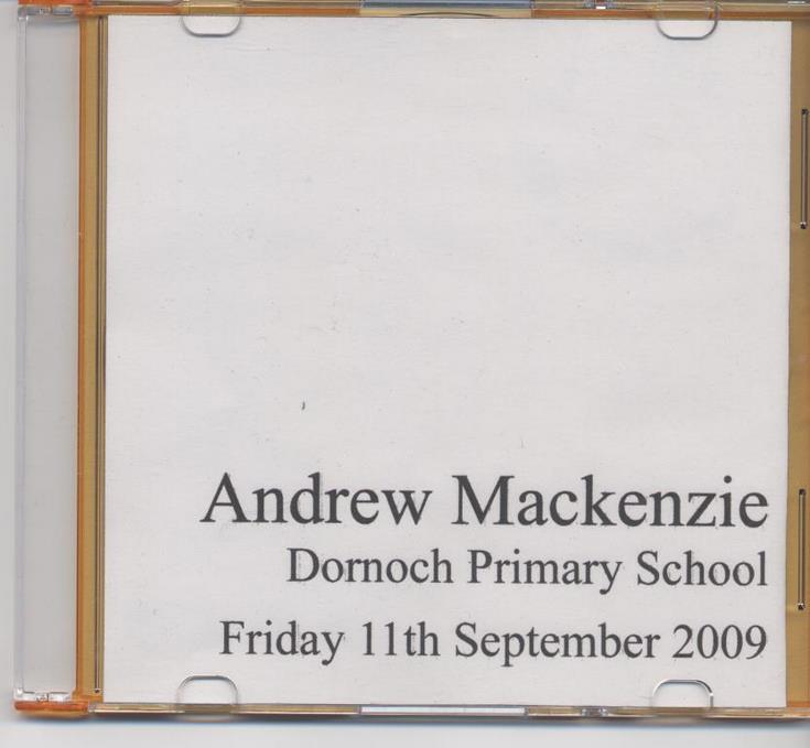 Andrew MacKenzie of Dornoch 'Their Past Your Future' - Bomber Command