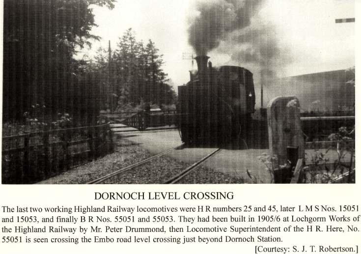 Dornoch level crossing