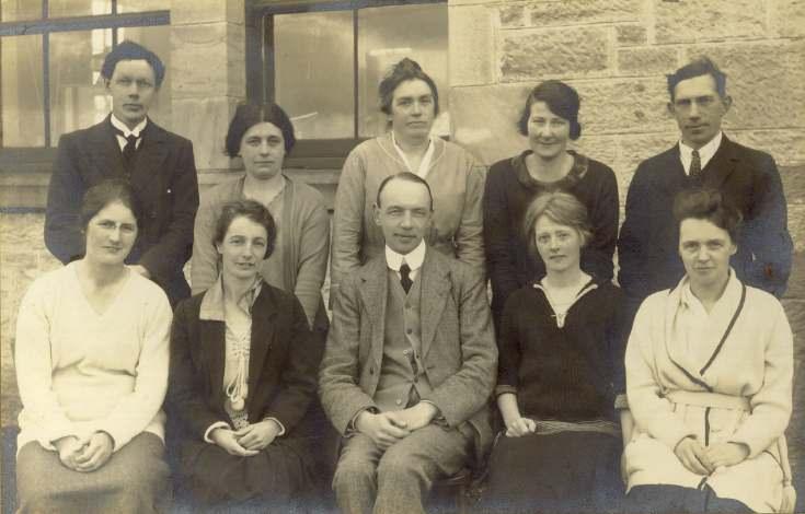 Staff, Dornoch Academy, c. 1930s