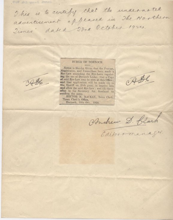 Letter of thanks from provost 1928