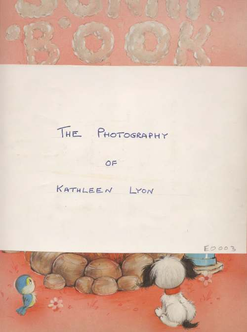 The Photography of Kathleen Lyon