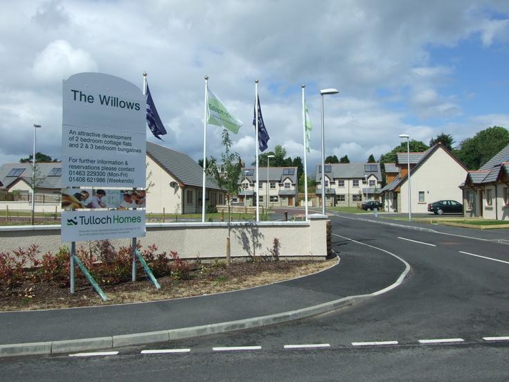 The Willows estate Dornoch