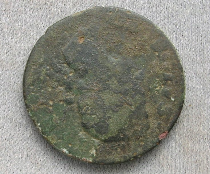 Copper halfpenny found in Dornoch area