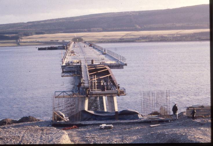 Final spans construction