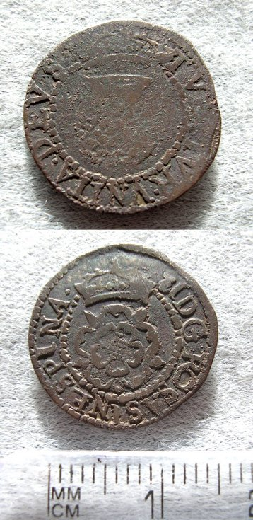 James VI silver 2 shilling piece