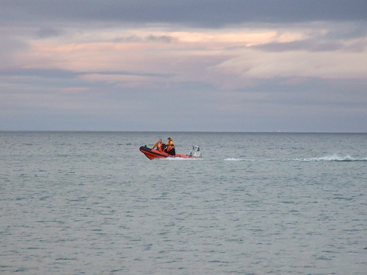 Embo Search &  Rescue Association Testing new boat