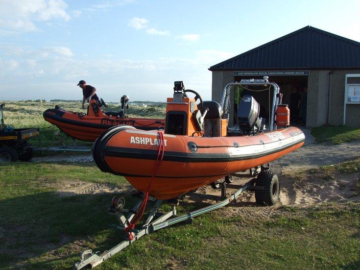 ERSA inshore lifeboats
