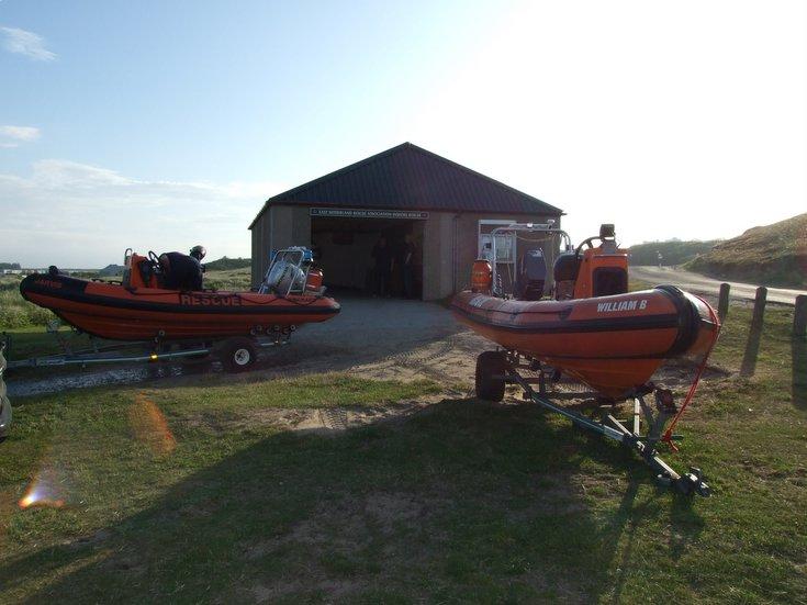 ESRA Lifeboats and boatshed