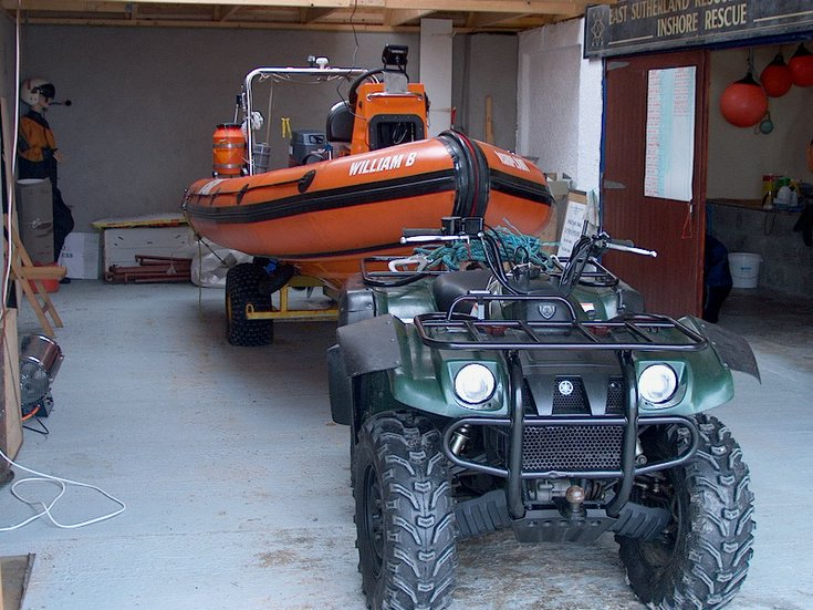 ERSA 'William B Ashbplant' lifeboat