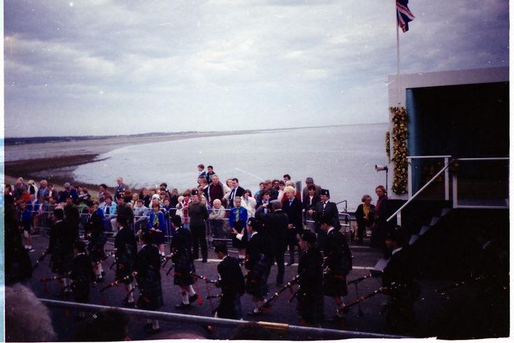 Dornoch Firth Bridge Opening Ceremony 1991