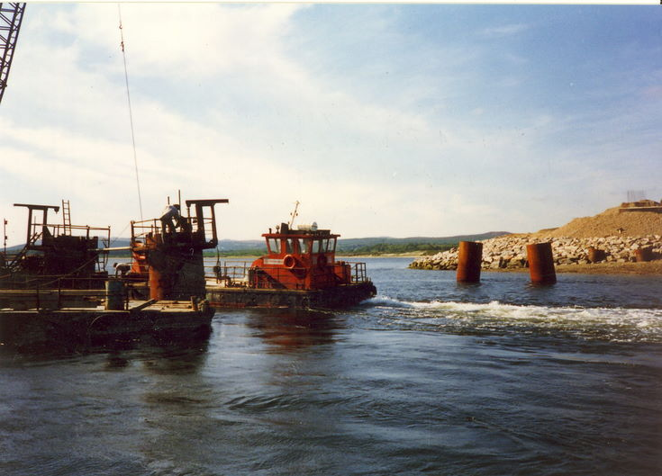Dornoch Firth Bridge Construction ~ Catwalks