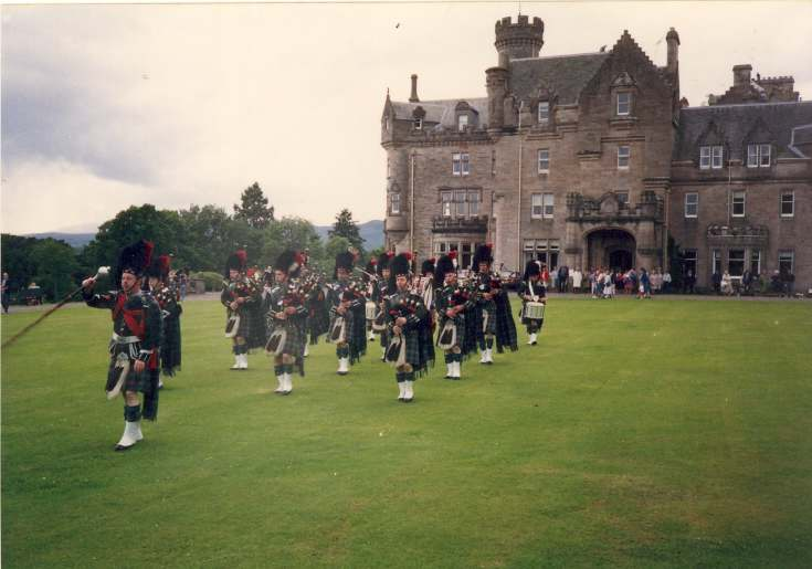 Skibo Castle open day