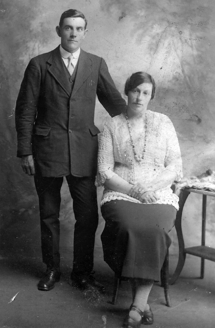 Harry Macrae's parents