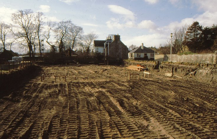 Prepared site for Historylinks museum 1996