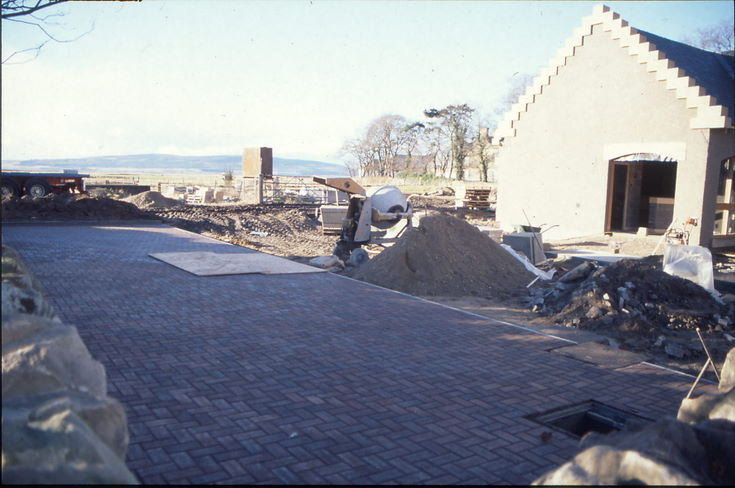 Historylinks car park paving completed 1997