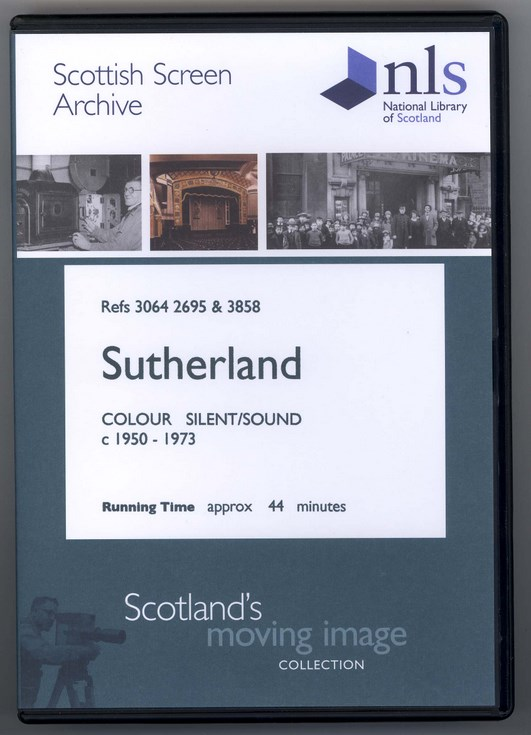 Sutherland DVD from the Scottish Screen Archive