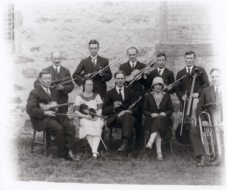 Dornoch Light Orchestra circa 1925