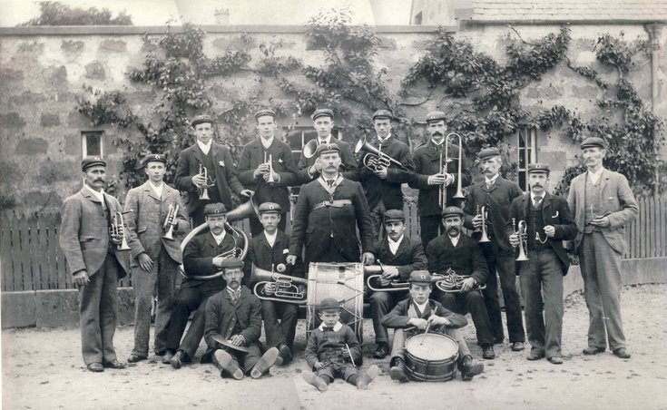 Dornoch Brass Band c 1925