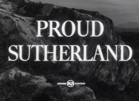 Film 'Proud Sutherland